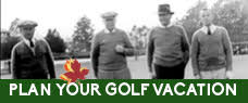 Plan your golf vacation